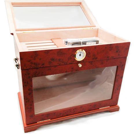 cigar humidor display cabinet ebay