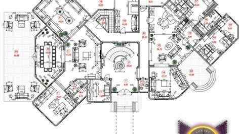 luxury villa house plans bespoke luxury house plan in dubai by luxury antonovich design