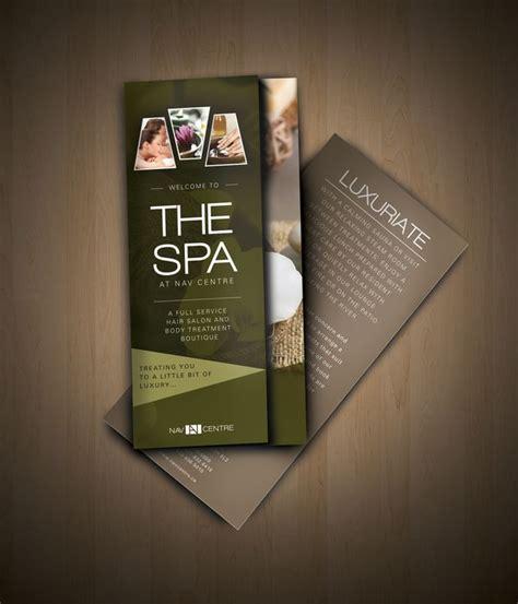 design flyer spa 39 best spa brochures images on pinterest