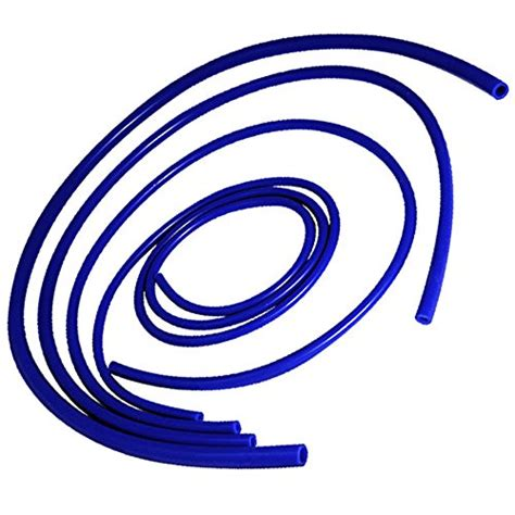 Selang Silikon 7mm X 14mm Silicone Tubing upgr8 universal 4mm 6mm 8mm 12mm inner diameter high performance silicone vacuum hose kit blue