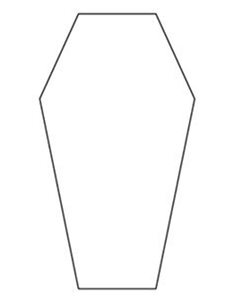 Coffin Card Template by Coffin Pattern Use The Printable Outline For Crafts