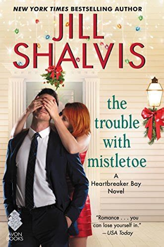 grade mistletoe the precinct books the trouble with mistletoe by shalvis smart bitches