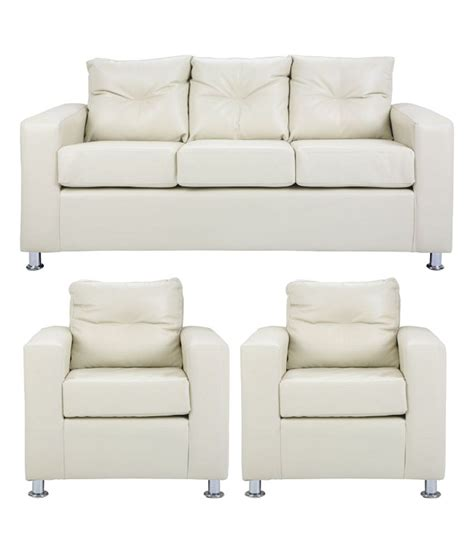 sofa set 3 seater pallazio 5 seater sofa set 3 1 1 in white buy pallazio