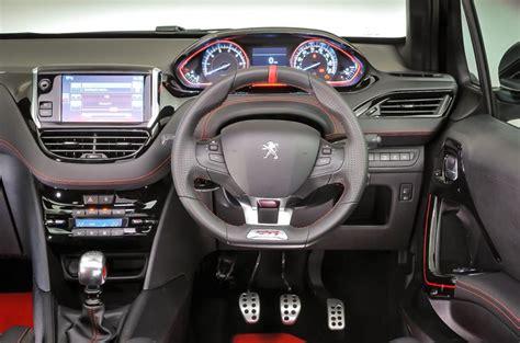 peugeot 208 gti inside peugeot 208 gti 30th 2014 2015 interior autocar