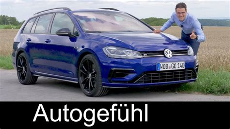 2018 golf r estate volkswagen golf r variant review 310 hp vw estate
