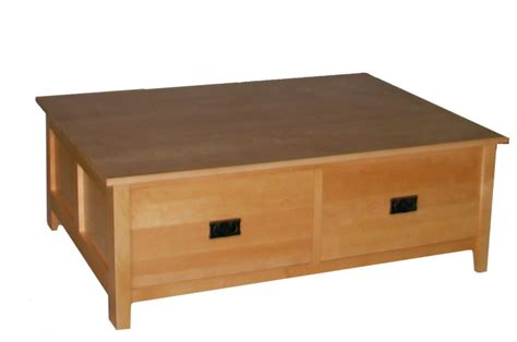 Square Coffee Tables With Drawers Square Coffee Table W Drawer