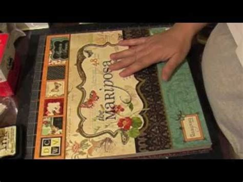 youtube layout scrapbook 12 x 12 scrapbook layout using maricposa papers part 1
