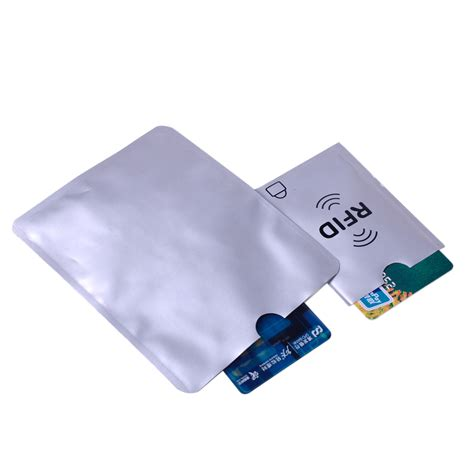 Protector Sleeve credit card passport rfid blocking secure protector