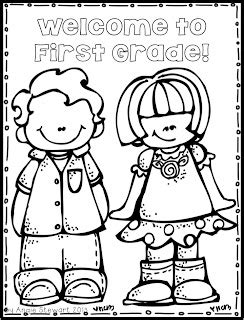 The First Grade Scoop Dog Days Of Summer Giveaway And Coloring Pages For 1st Graders