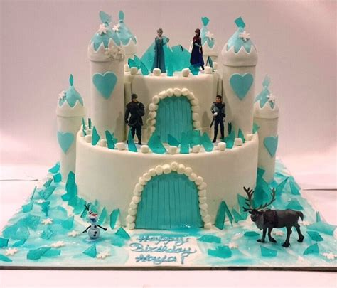frozn cakes pjdfrozencastlethecakerycakeammanjordancakeshopbirthday jaylen