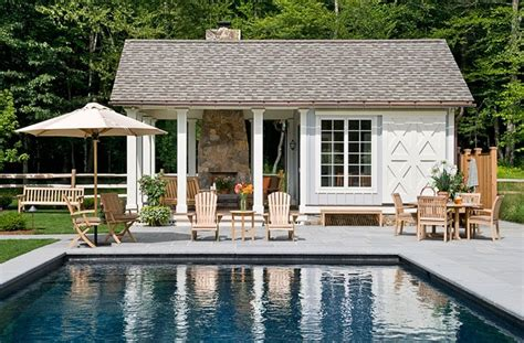 Cottages With Pools Design Tips For Your Pool House