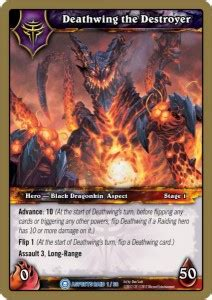 wow tcg chion deck new wow tcg raid deck time for aspects r age r age