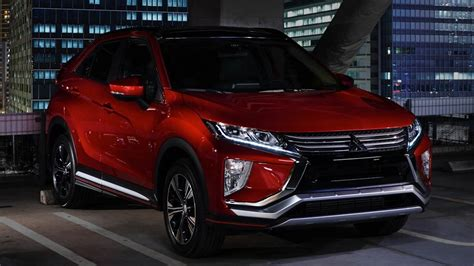 mitsubishi eclipse interior mitsubishi eclipse cross 2018 exterior and interior