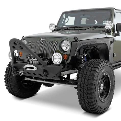 jeep stinger bumper smittybilt 174 jeep wrangler 2013 src stubby black front