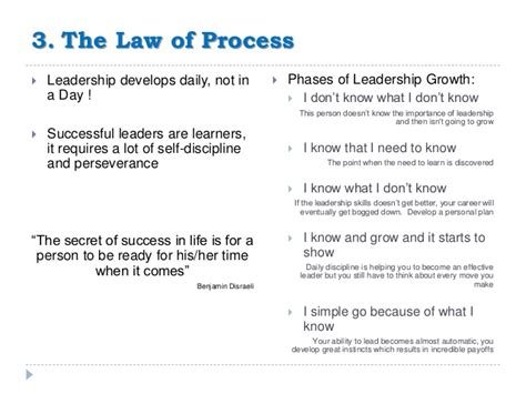 laws of leadership thoughts from the field thoughts from the field
