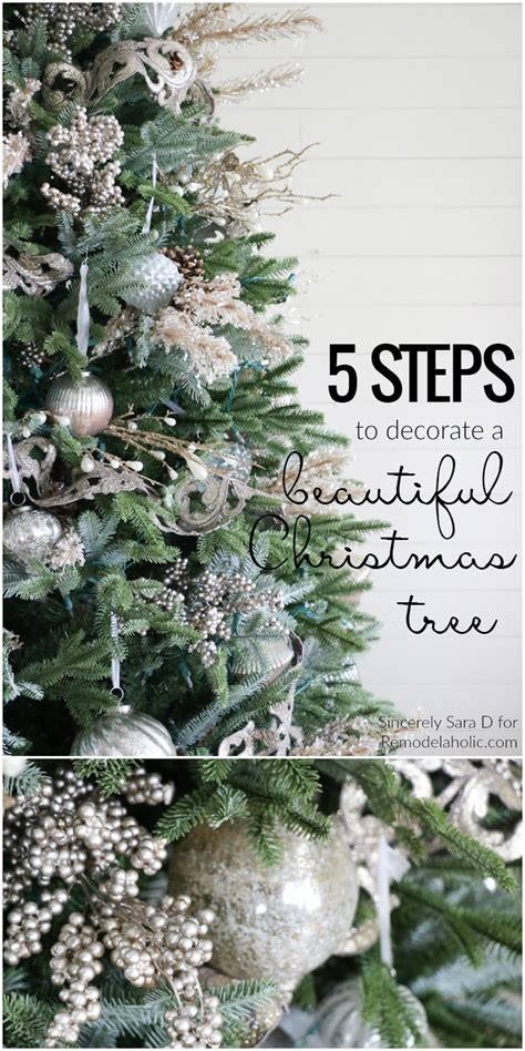 albert blog how to decorate a christmas tree in 5 simple