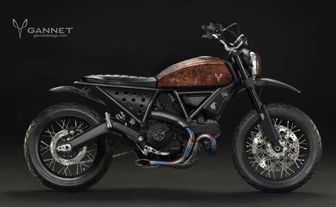 Honda Motorrad Garage L Rrach by Gannet Design Et La Ducati Scrambler Une Histoire D Amour