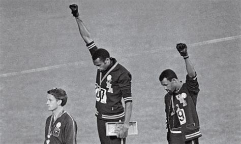 the who raised a black power salute at the 1968