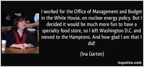 Barefoot Contessa Nuclear by I Worked For The Office Of Management And Budget In The