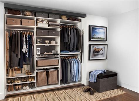 modern closets modern closet with hardwood floors by transform home