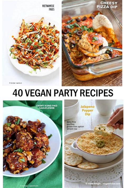 40 festive finger food recipes sweet and savory nibbles for your razzle dazzle books 40 vegan food recipes vegan richa