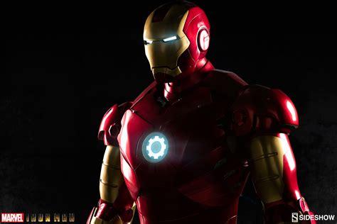 the iron man a iron man mark iii life size figure