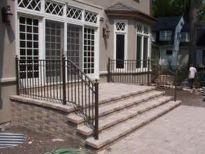 adding railing to your exteriors can give the outside a