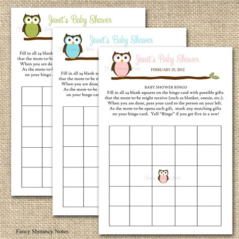 Baby Shower Bingo Printables by Baby Shower Bingo Baby Shower Baby Shower Bingo Baby Shower And Babies