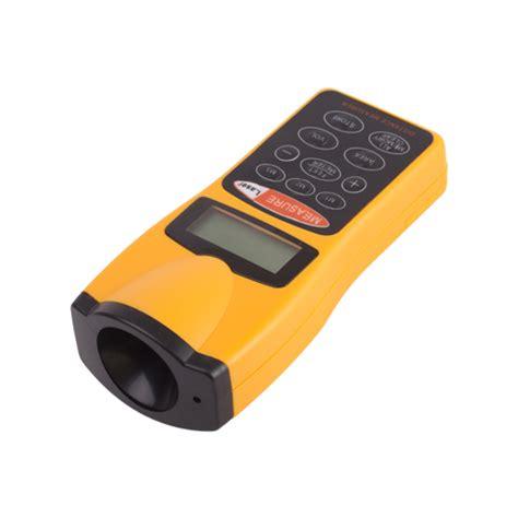 room measurement tool digital lcd ultrasonic laser point distance meter range measurer tool ebay