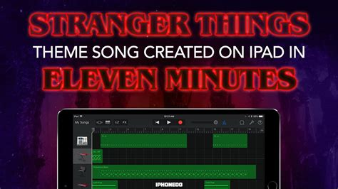 theme music creator stranger things theme song how to create it in eleven
