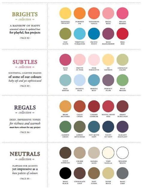 neutral colors list 2010 2014 stin up colors brights subtles regals