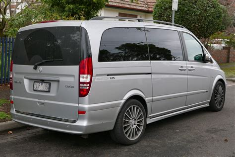 Mercedes Viano by File 2011 Mercedes Viano V 639 My12 Edition 125 Cdi