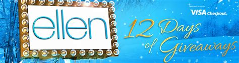 Ellen 12 Days Of Giveaways Contest - ellen degeneres 2015 car giveaway share the knownledge