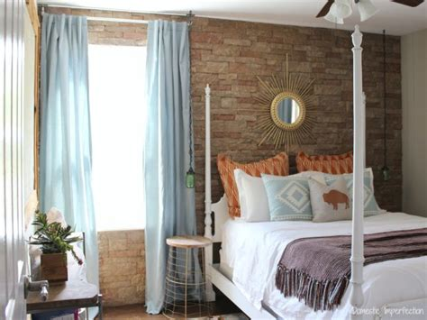 southwest bedroom southwestern guest room reveal domestic imperfection