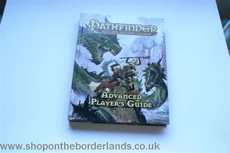 pathfinder roleplaying advanced player s guide advanced player s guide hardback rulebook for pathfinder