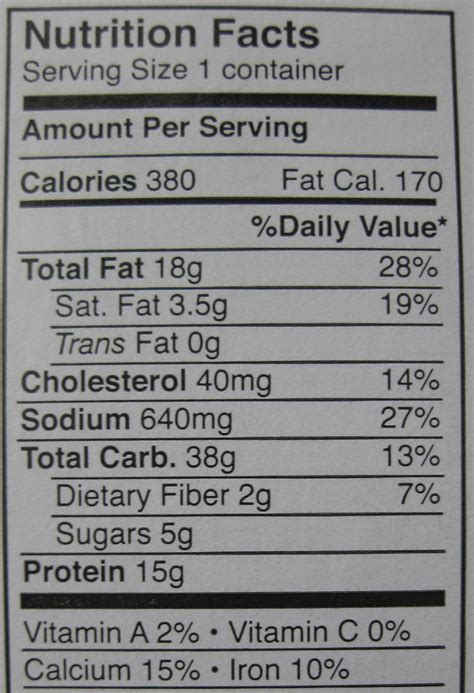 Arby'S Nutrition Information – Blog Dandk Arby S Nutritional Information