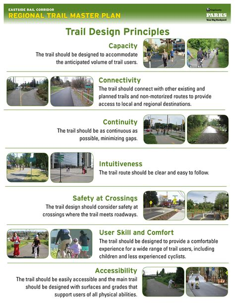 document layout design principles eastside rail corridor regional trail king county