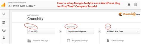 tutorial google analytics wordpress how to setup install google analytics on a wordpress