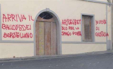 sindaco di bagno a ripoli bagno a ripoli scritta di minacce contro l assessore