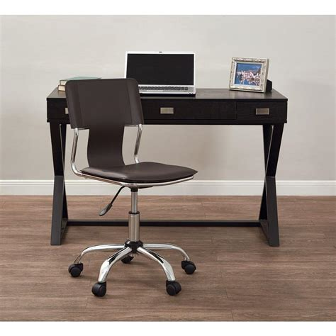 office depot espresso ave six carina espresso office chair crn26 es the home depot