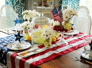 decoration articles outrage as home garden channel advises viewers to use american flag as decorative tablecloth