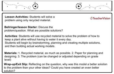 lesson plans  teachers grades   teachervision