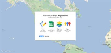 maps engine lite crea y aprende con crear colaborar y compartir