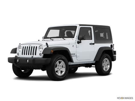 jeep white 2016 2016 jeep wrangler kelley blue book