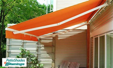 how to install a retractable awning regal retractable awning patio shades retractable awnings