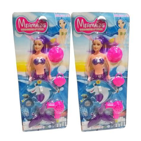 Mermaid Boneka Putri Duyung jual mainan anak boneka mermaid putri duyung toys family