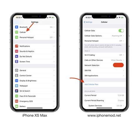 หน าตาของระบบซ มค dual sim iphone xs xs max และ xr เป นแบบน น เอง