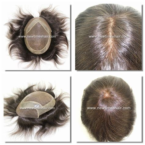 latest hair replacement 2015 ld4 fine welded mono with pu gauze durable hair