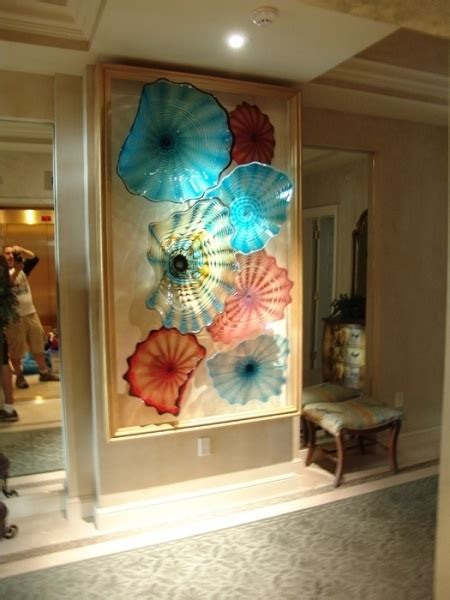 Design Blown Glass Ls Ideas Wall Designs Blown Glass Wall Glass Beverly Albrets Blown Glass Wall Colorful Wall