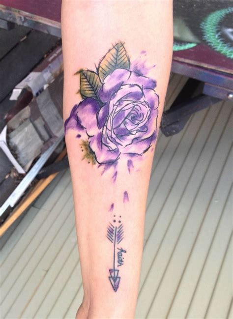 rose side tattoo best 20 watercolor tattoos ideas on